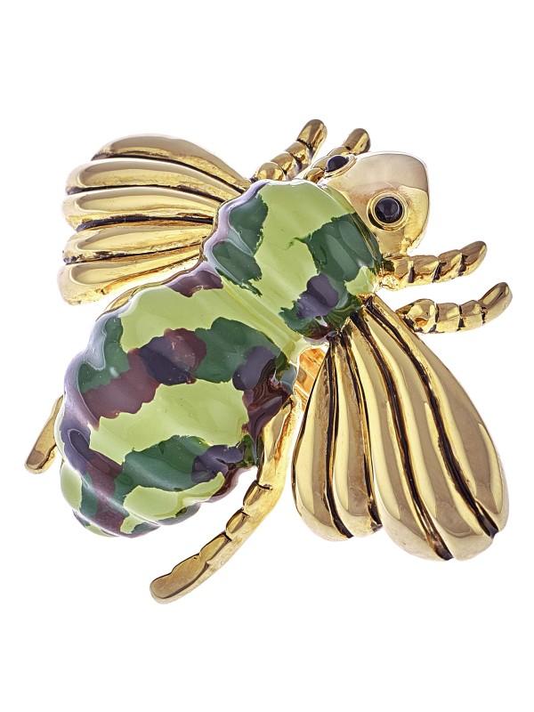 Anello da cocktail Mimetic Bee