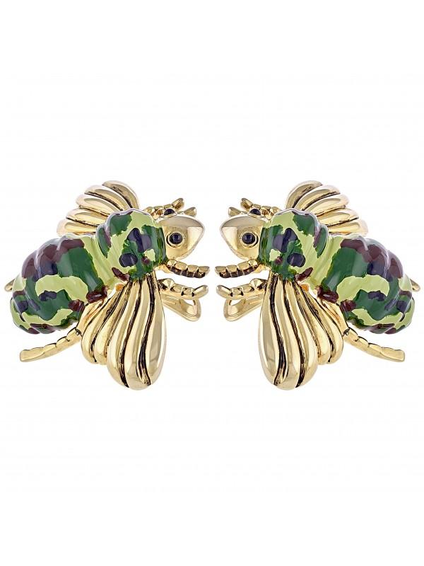 Orecchini a clip Mimetic Bee